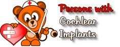 Persons with    Cochlear     Implants